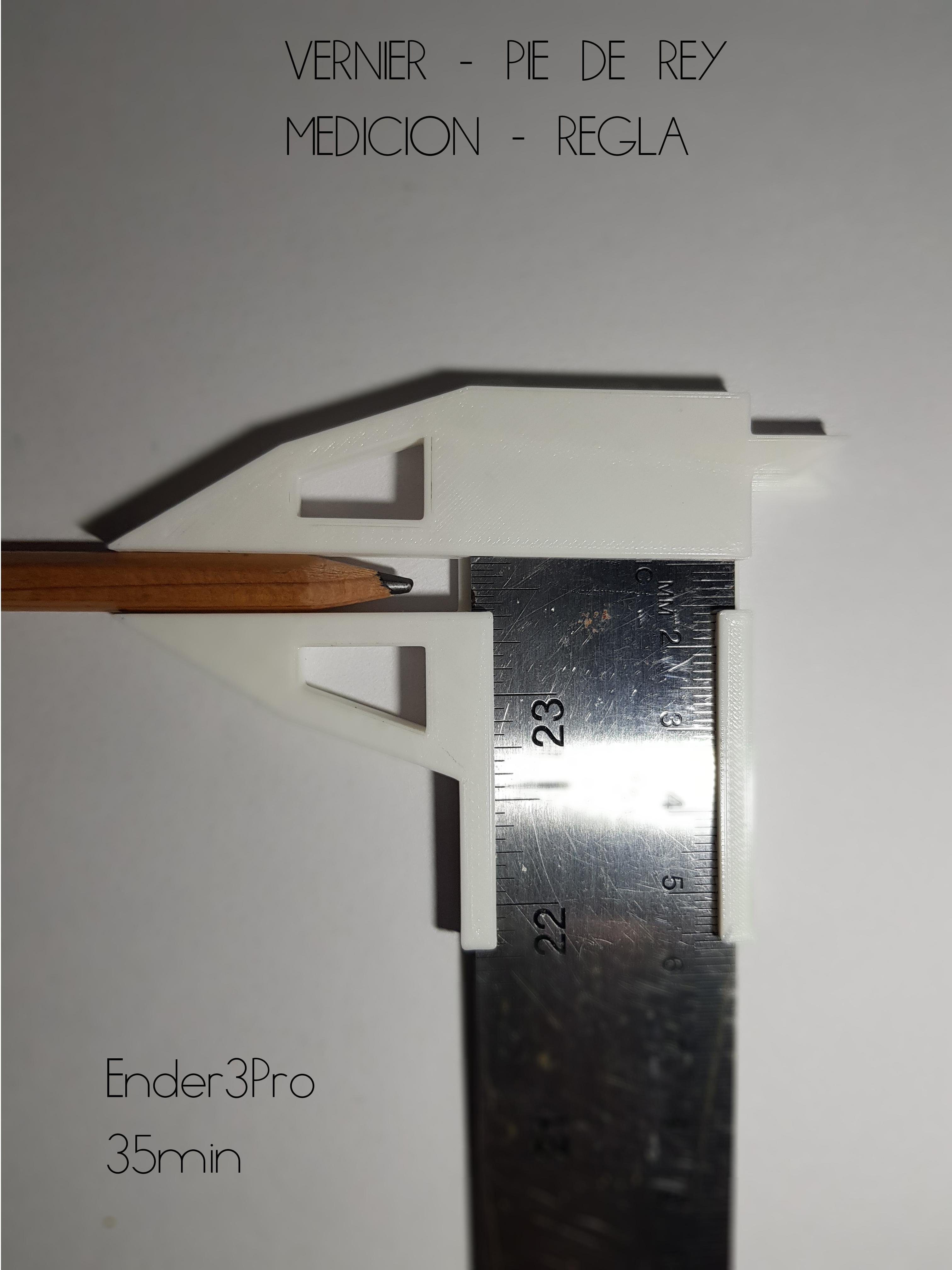 15.jpg Télécharger fichier STL gratuit Vernier - Pie de Rey - Règle • Modèle pour imprimante 3D, Alanrosasr