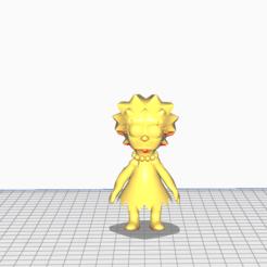 Télécharger fichier 3D Lisa Simpson, santosjara