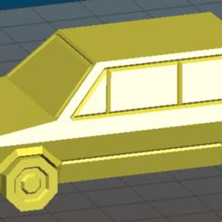 vw.png Télécharger fichier STL Volkswagen Golf GTI • Objet pour imprimante 3D, naadia_21