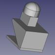 stl design.png Download free STL file He-Man Beast Man Arm Band Repair Nub • 3D printable object, SlendoBendo