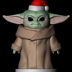 1.jpg Download STL file Baby Yoda The Mandalorian • 3D print template, Loztvayne