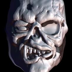 Descargar archivo 3D Skull Zombie, Loztvayne