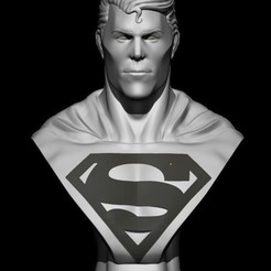 BPR_Render.jpg Télécharger fichier STL Superman • Plan à imprimer en 3D, Loztvayne
