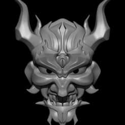1.5.jpg Download STL file Oni Mask • 3D printing model, Loztvayne