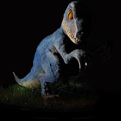 Descargar modelos 3D para imprimir Velociraptor (con textura)., Loztvayne