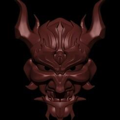 2.5.jpg Download STL file Oni Mask • 3D printing model, Loztvayne