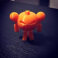Download 3D printing designs Jack-O-Bot, jpjoshua