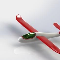 Descargar archivo 3D Planeador - Diseño, dhana
