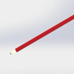 Télécharger objet 3D Crayon imprimable 3D, dhana