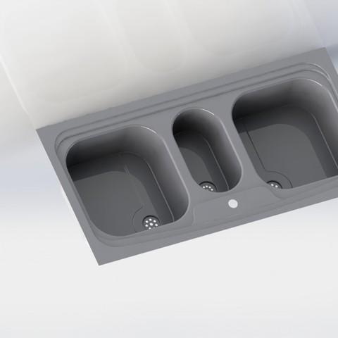 Télécharger objet 3D Evier imprimable 3D - Petit Prototype, dhana