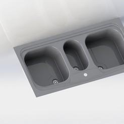 Imprimir en 3D Fregadero 3D imprimible - Pequeño Prototipo, dhana