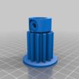 Télécharger plan imprimante 3D gatuit Reinforced steering pinion Peg Perego Gaucho, 3DKit