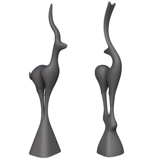 Descargar archivo 3D Deco de pie para ciervos, print3dstv
