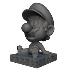 Download 3D printing files Mario Bobble head, print3dstv