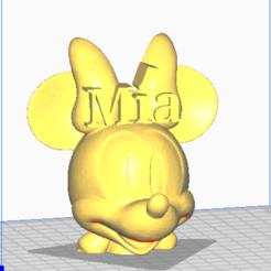 Télécharger fichier STL MINNIE MIA • Design à imprimer en 3D, jorgekampillero