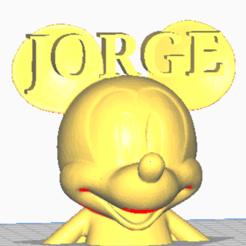 Télécharger fichier STL MICKEY MAUSE JORGE • Design pour impression 3D, jorgekampillero