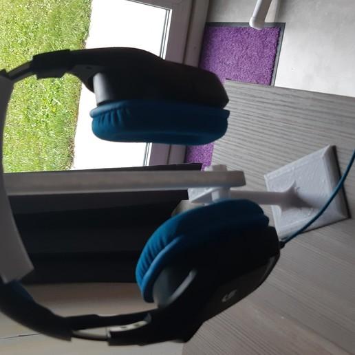 Download free STL file headphone support, SAS38