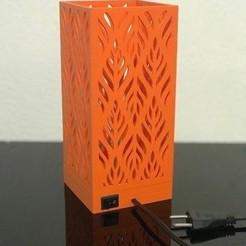 9fad2568-31ae-4a07-b322-007db2c05af4.jpeg Télécharger fichier STL Lampe de chevet • Design à imprimer en 3D, Marciodm