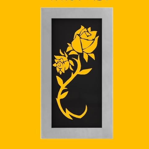 Download 3D printing files Flower Deco, Aprilis
