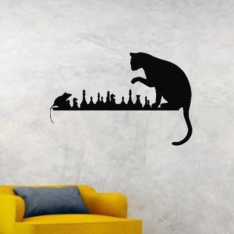 3D printer files Cat Mouse deco, Aprilis