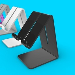 3D printer files Phone stand, Aprilis