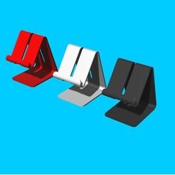 Download 3D printer model PHONE STAND 2, Aprilis