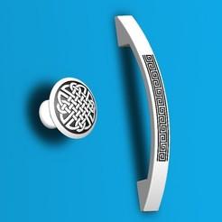 Download 3D printer designs Cabinet knobs, Aprilis