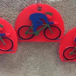 Télécharger fichier STL gratuit ciclismo llavero • Plan pour impression 3D, rob950406