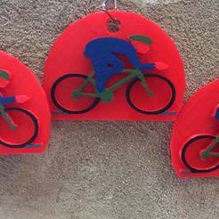 Download free STL file llavero ciclismo • 3D print model, rob950406