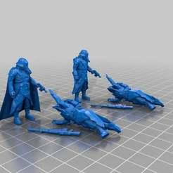 Descargar modelo 3D gratis Los ángeles de la muerte, Sicarius