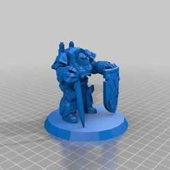 Imprimir en 3D gratis Caballero Negro Guardián, Sicarius