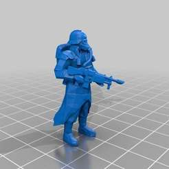 Download free 3D printer designs Space Foot-soldier, Sicarius