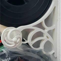 Download 3D printing templates DIY FILAMENT SHELF, Balbok