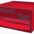 """Download free 3D printing templates Lets get that flat tummy? Presenting the """"Crunch Expert"""", oreotj"""