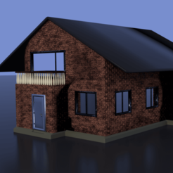 Download 3D printing designs Modern House, raud911