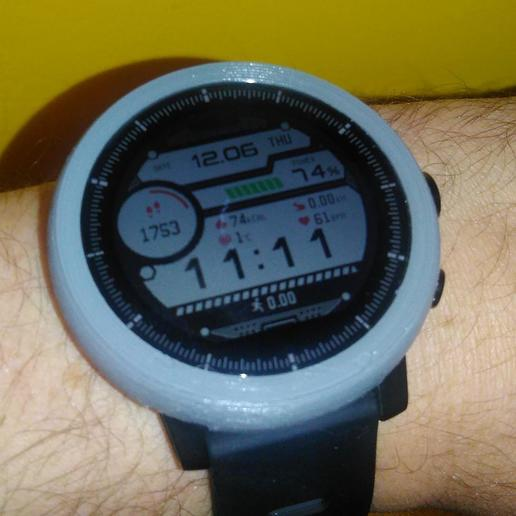 Download free 3D print files Amazfit Stratos protector, xmas75