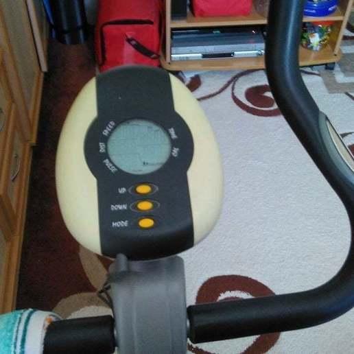 Download free 3D print files Pulse sensor part for Domyos indoor bike, xmas75