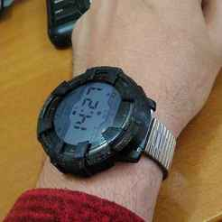 "Download STL files Amazfit Startos ""G-Shock"" style protectors (7 versions), xmas75"