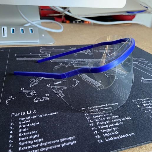 Descargar modelo 3D gratis Gafas COVID-19, Raiden39