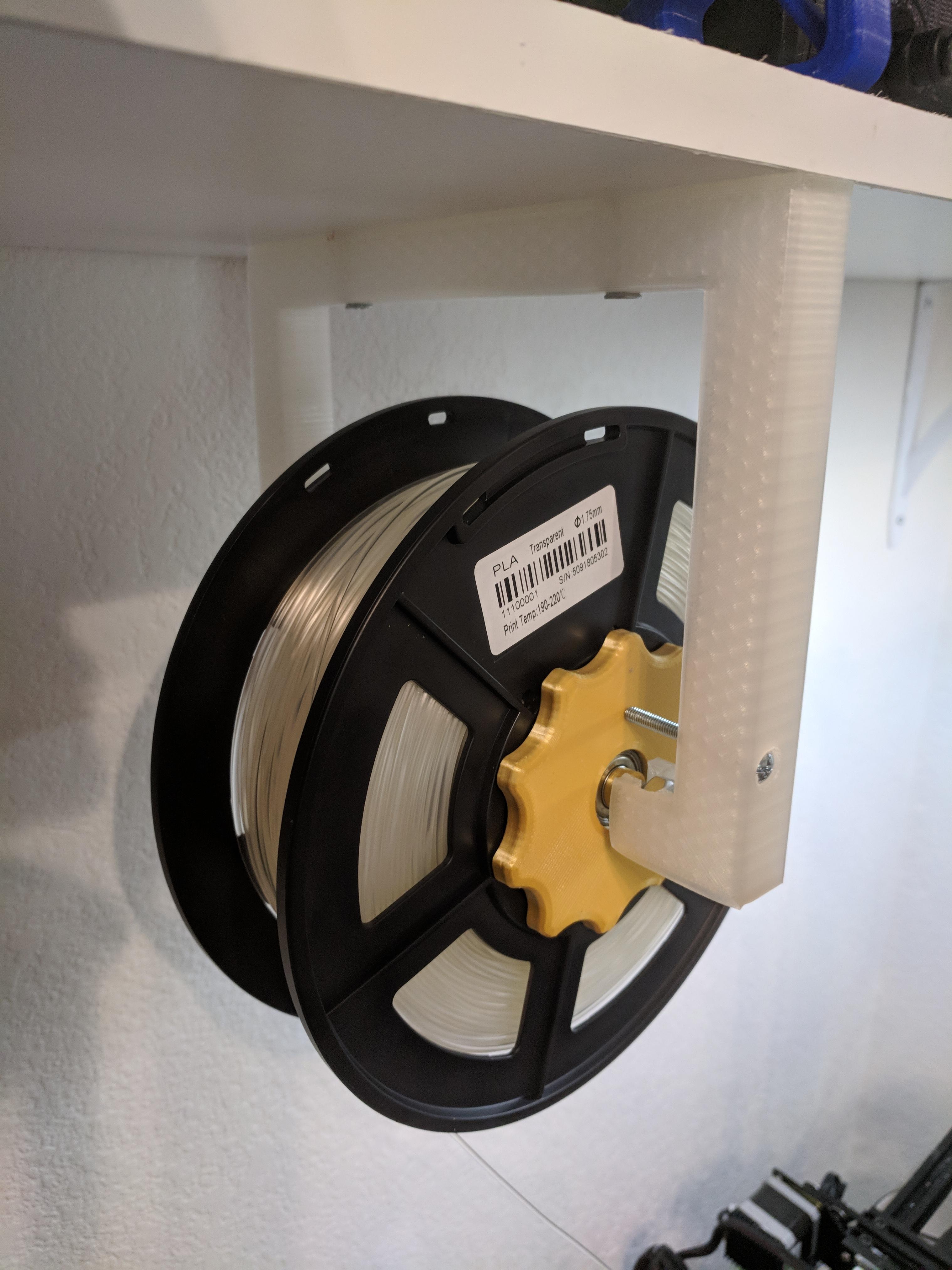 IMG_20180728_125443.jpg Download free STL file Suspended Filament Spool Holder • 3D printing model, ibgeek