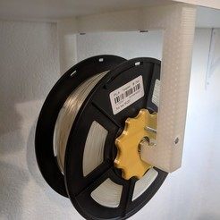 Download free 3D model Suspended Filament Spool Holder, ibgeek