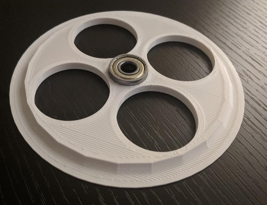 Capture.PNG Télécharger fichier STL gratuit Poulie à filament 130MM avec roulement 608 • Design à imprimer en 3D, ibgeek