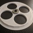 Descargar diseños 3D gratis Polea de filamento de 130MM con cojinete 608, ibgeek