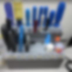 Download free 3D printer model Desktop Tool Holder 2.0, ibgeek