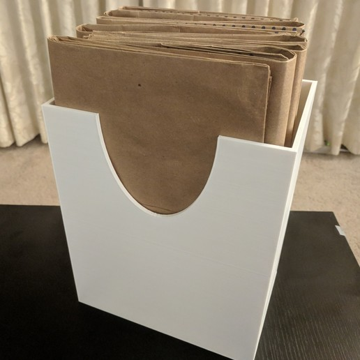 IMG_20181025_225512.jpg Download free STL file Paper Grocery Bag Holder • 3D printable model, ibgeek