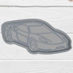 Cool Krunk-deportivo.png Télécharger fichier STL MOULE À BISCUIT DE VOITURE • Objet à imprimer en 3D, KDASH
