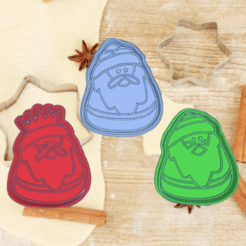 Amazing Juttuli-23d.png Download STL file three wise men's day COOKIE CUTTER KIT X3 PACK • 3D print object, KDASH