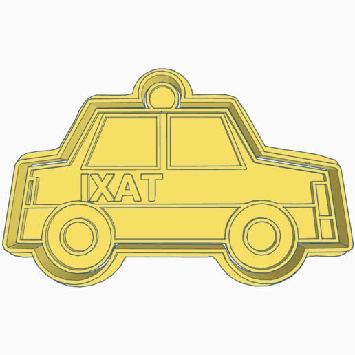 Télécharger fichier impression 3D MOULE À BISCUIT DE TAXI, KDASH