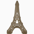 Download STL files TOWER EIFFEL COOKIE CUTTER, KDASH
