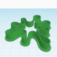 Download free 3D printing models SPLASH COOKIE CUTTER, KDASH